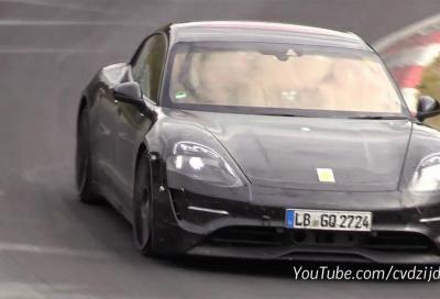 Porsche Taycan: ulteriori collaudi al Nurburgring