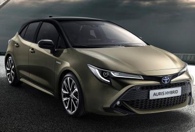 Toyota: addio Auris, bentornata Corolla