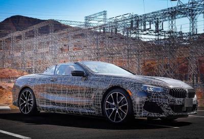 BMW Serie 8 Cabrio: ultimi collaudi nella Death Valley