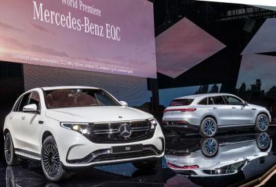 Mercedes EQC: l'elettrico secondo la Stella