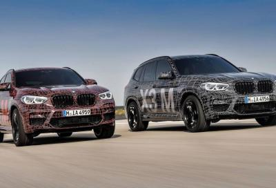 BMW X3 M e X4 M: piccola apparizione al Nürburgring