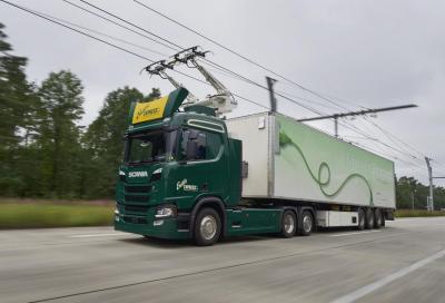 BreBeMi A35: al via l'autostrada elettrificata per i mezzi pesanti