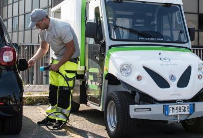 Auto elettrica: a Milano la prima ricarica mobile a chiamata