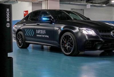 Automated Valet Parking: il parcheggio autonomo di Bosch e Daimler