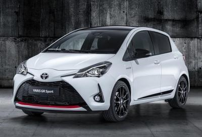 Toyota Yaris GR Sport: quando l'ibrido profuma di sport