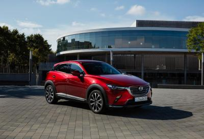 Mazda CX-3 2018: upgrade tecnologico