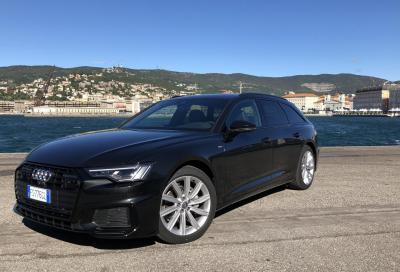 Nuova Audi A6 Avant - Test su strada