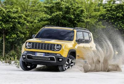 Jeep Renegade: nel 2020 arriverà la variante ibrida plug-in