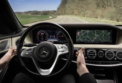 Mercedes Classe S: in arrivo la guida autonoma di livello 3
