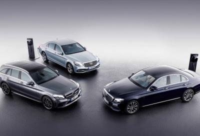 Mercedes: benvenute diesel ibride plug-in