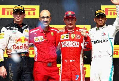 F1, Raikkonen torna a vincere negli States e rimanda la festa ad Hamilton