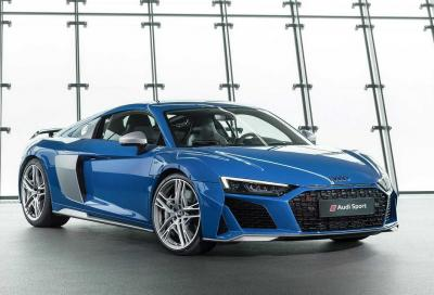 Audi R8: con il restyling tocca quota 620 CV