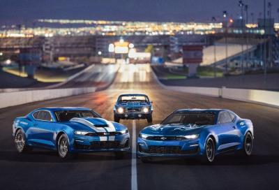 """Chevrolet Camaro eCopo: il quarto di miglio in salsa """"elettrica"""""""