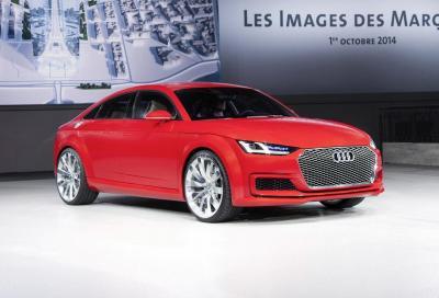 Audi TT: in futuro sarà coupé 4 porte