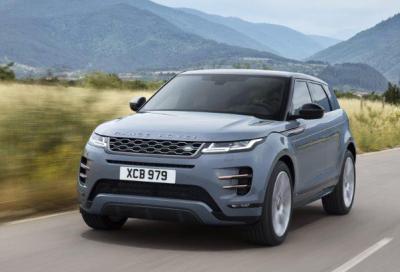 Ecco le prime immagini della nuova Range Rover Evoque