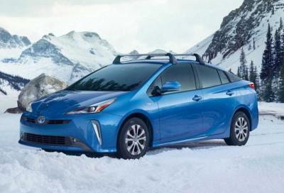 Toyota Prius AWD: l'elettrica che non teme l'inverno