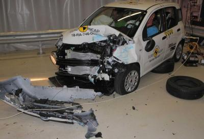 Crash test Euro NCAP: molto male Fiat Panda e Jeep Wrangler