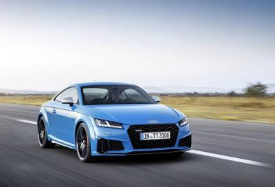 Audi TT 2019: in Germania da 35.900 euro