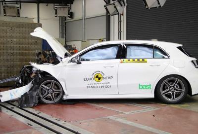 Crash test Euro NCAP 2018: al primo posto la Mercedes Classe A