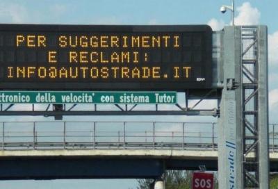 Tutor autostradale: riattivato su altre 11 tratte