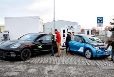 BMW e Porsche: prima colonnina di ricarica ultrarapida a 450 kW