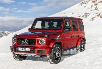 Mercedes Classe G 2018: svelata la motorizzazione diesel