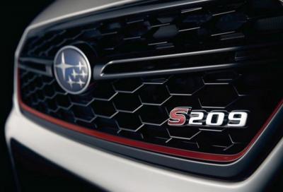 Subaru S209: sarà la nuova WRX STI?