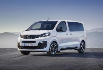Opel Zafira Life: benvenuta quarta generazione