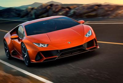 Lamborghini Huracan Evo: what else?