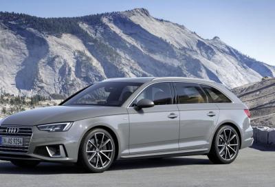 Audi A4 45 TFSI: benvenuto mild-hybrid