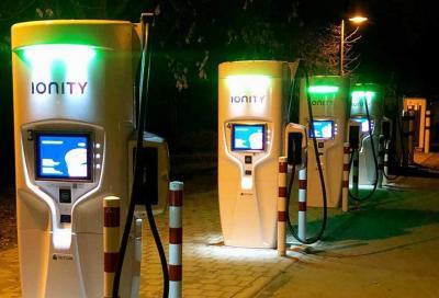 Elettriche: installate le prime colonnine da 350 kW