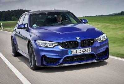 BMW M3 e M4: in arrivo le versioni manuali?