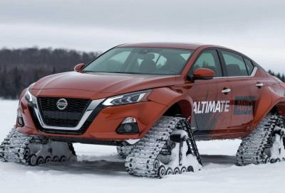 Nissan Altima-te AWD: provate a fermarla
