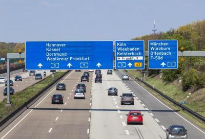 Autostrade tedesche: niente limite di velocità in futuro