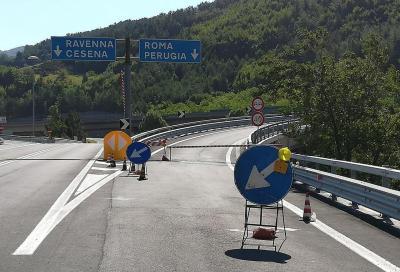 Viadotto Puleto E45: uno dei piloni è a rischio crollo
