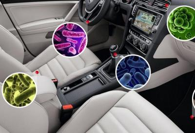 Quanti germi ci sono in auto? Quattro volte in più di un bagno pubblico