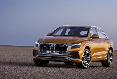 Audi Q8: nuovi motori V6 mild-hybrid
