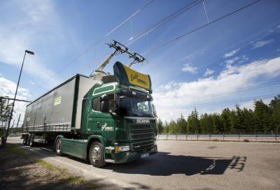 BreBeMi A35: al via la sperimentazione per i camion elettrici