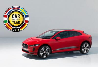 Car of the Year 2019: è la Jaguar I-Pace l'Auto dell'Anno 2019