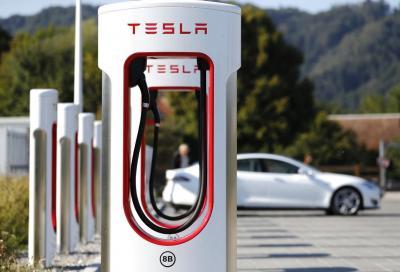 Tesla Supercharger V3: la potenza di ricarica sale fino a 250 kW
