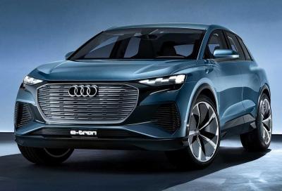 Audi Q4 e-tron concept: compatto, elettrico e funzionale