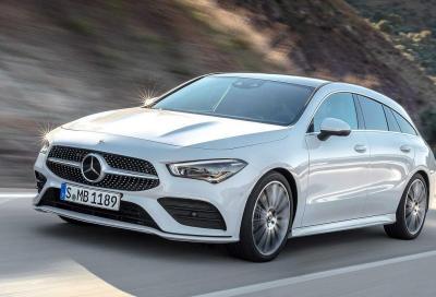 Mercedes CLA Shooting Brake: ancora più spazio e stile
