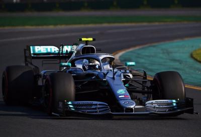 F1, in Australia Bottas inaugura il mondiale 2019