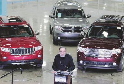 Emissioni FCA: richiamate 900mila auto negli Stati Uniti