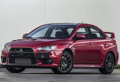 Mitsubishi: addio alle auto sportive