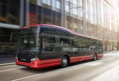 Autobus elettrici e a guida autonoma: dal 2020 test in Svezia