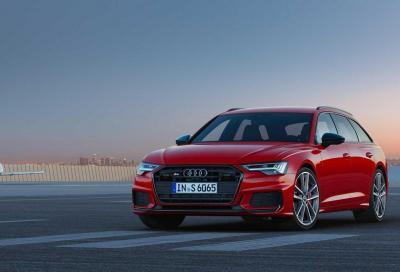 Audi S6 ed S7: ora con il 3.0 V6 TDI mild-hybrid a 48 Volt