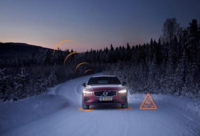 Volvo: maggiore sicurezza con i veicoli connessi