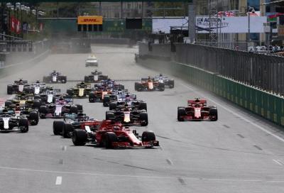 F1, GP dell'Azerbaijan: anteprima e orari TV