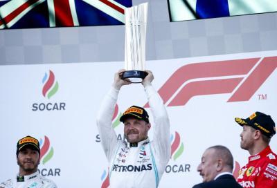 F1, a Baku splendono Bottas e la Mercedes